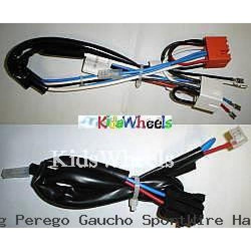 peg perego gaucho sport wire harness meie0424r and meie0425r kidswheels