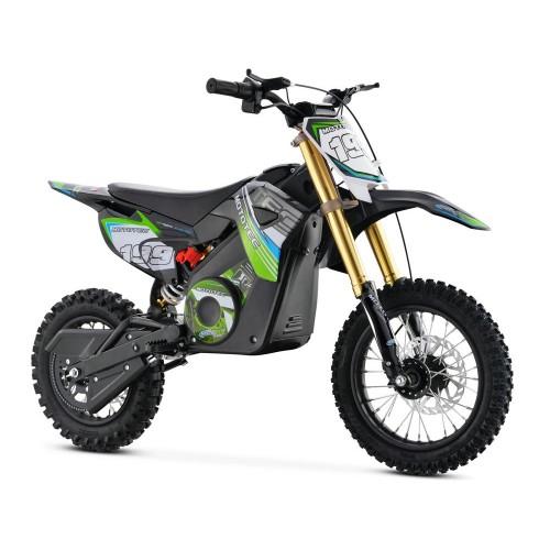 Mototec 36v Pro Electric Dirt Bike 1000w Lithium Green Mt