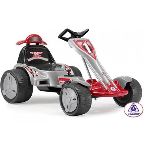Injusa 12v big wheels go kart bt inj669 kidswheels for 12 volt motor go kart