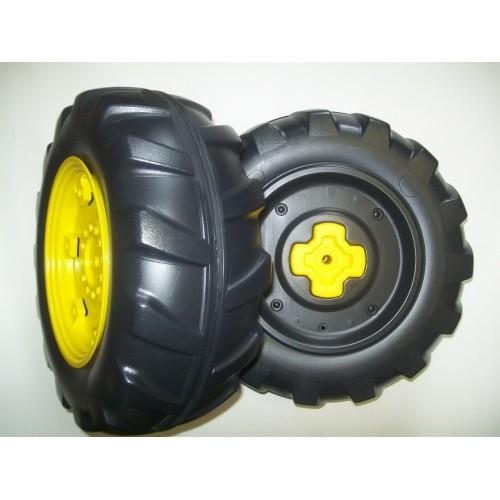 peg perego john deere ground force rear wheels set of 2. Black Bedroom Furniture Sets. Home Design Ideas
