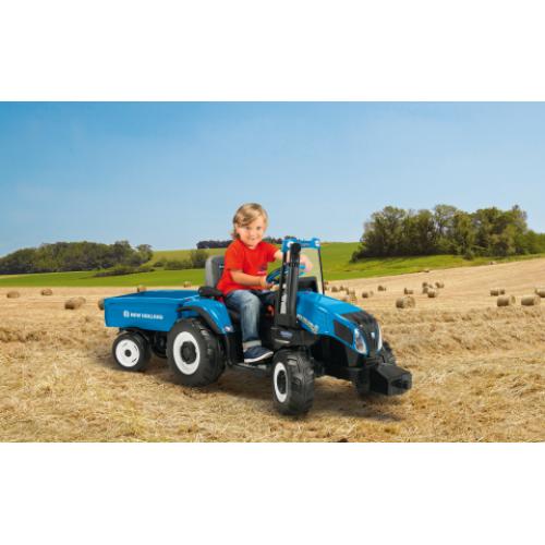 Peg Perego Tractor Parts : Peg perego v new holland t tractor igor kidswheels