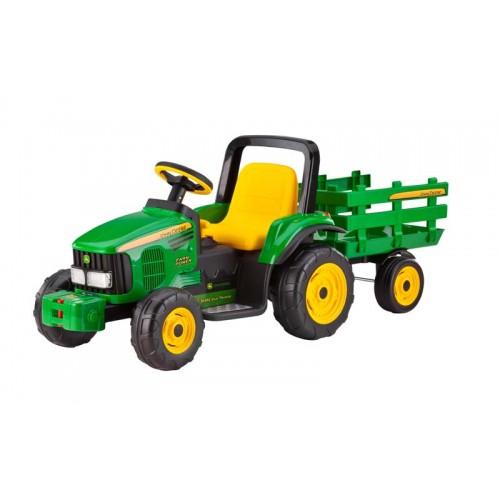 Peg Perego Tractor Parts : Peg perego v john deere farm power w trailer igor