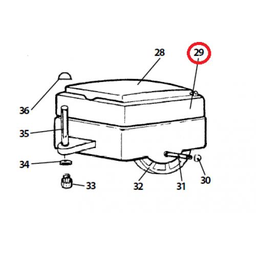 peg perego caboose body spst0434gr