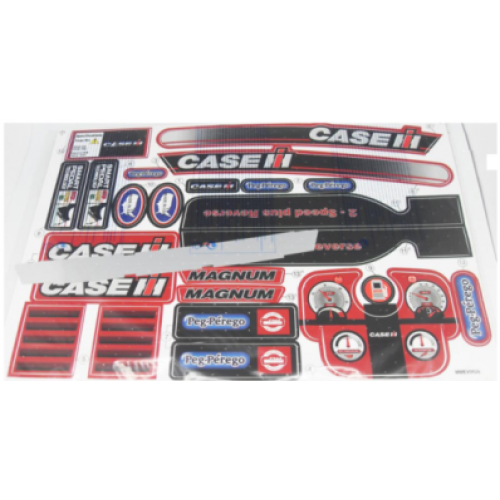 Case Tractor Stickers : Peg perego case ih magnum tractor decal sheet mmev