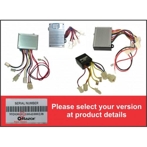 razor crazy cart control module variable speed 7 connector rh kidswheels com