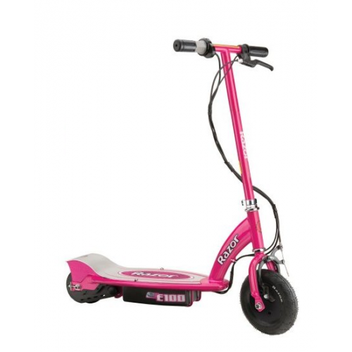 Razor 24v E100 Electric Scooter-pink 13111261