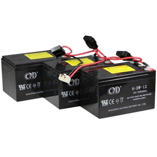 razor sx500 battery w fuses 3 12v 12ah 4 hole 2 pin. Black Bedroom Furniture Sets. Home Design Ideas