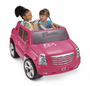 barbie cadillac escalade model j5246 and m0409 parts