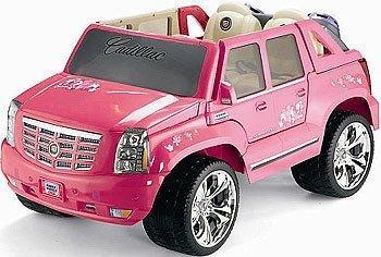 Barbie escalade power wheels manual