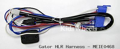 pegperego 24v polaris rzr main wire harness kidswheels wiring harnesses