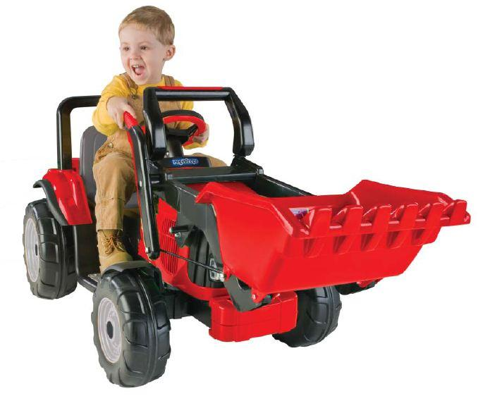 Pink Power Wheels Tractor : Peg perego v charger mecb u kidswheels