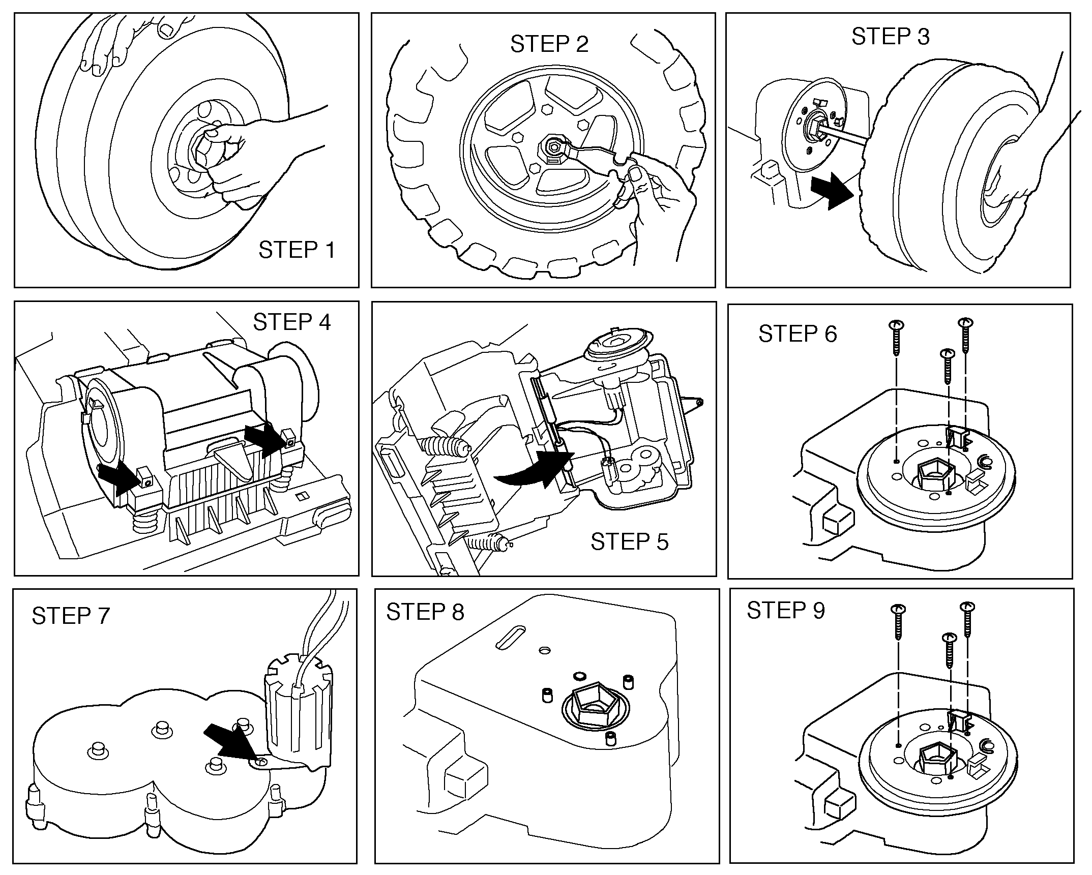 How to change the Gearbox in your Peg Perego Gaucho Grande