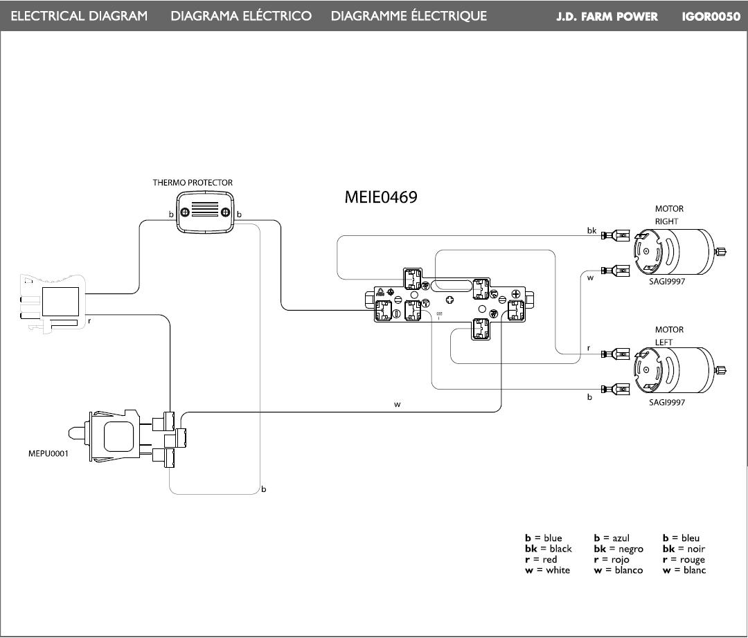 John Deere Farm Power electric diagram