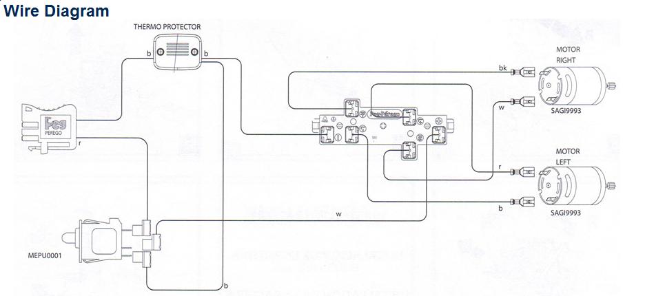 Craftsman Tractor electric diagram