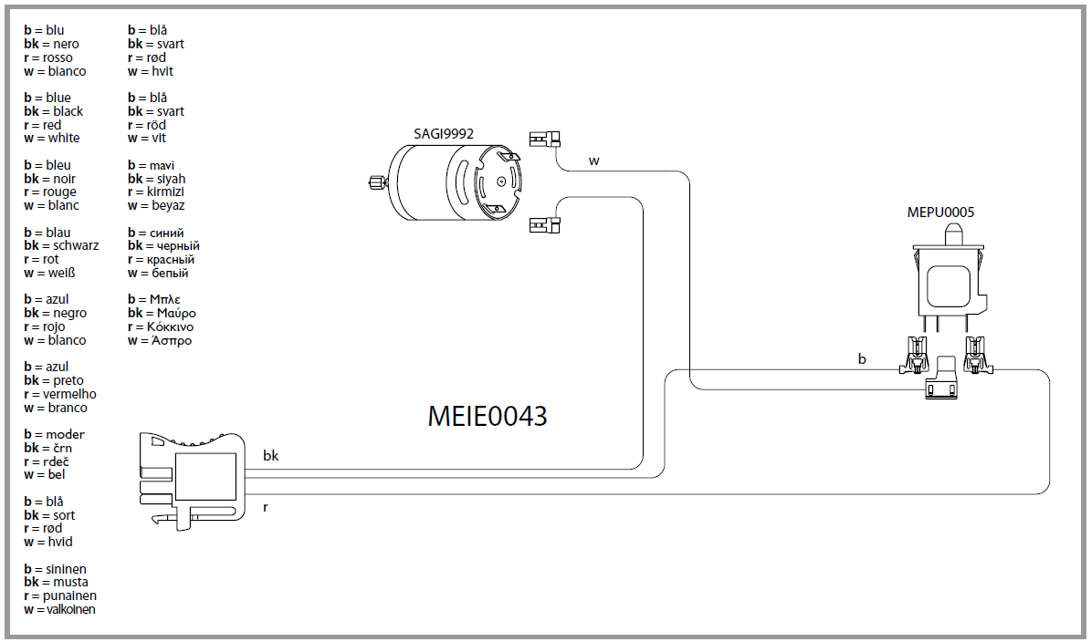 IGED1050 electric diagram