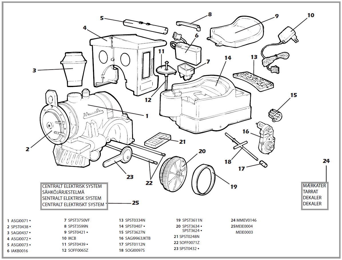 It's just an image of Sassy Car Engine Parts Labeled