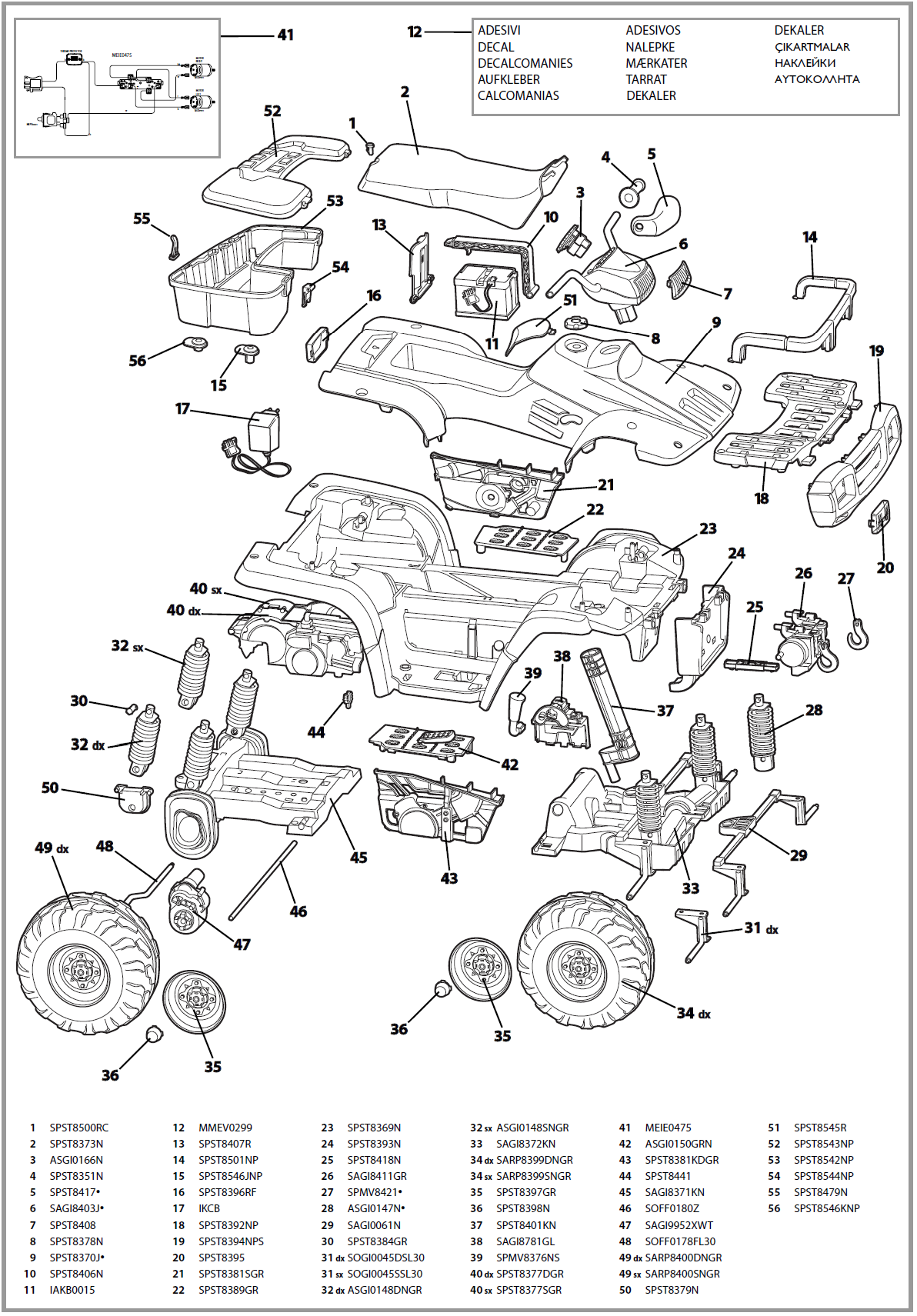 polaris sportsman 450 wiring diagram