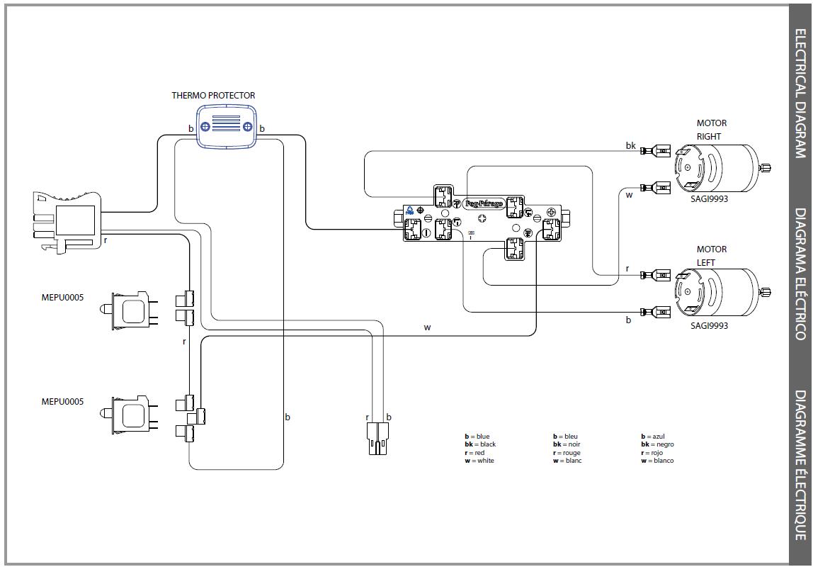 IGOD0052 electric diagram