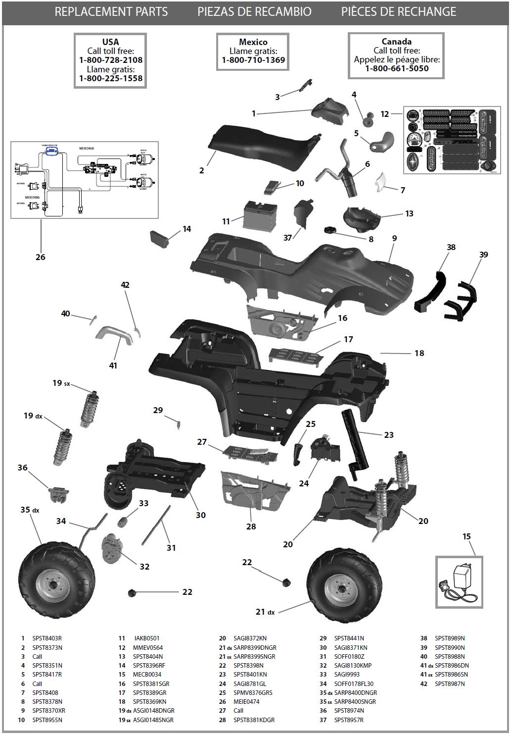 IGOD0052 parts diagram