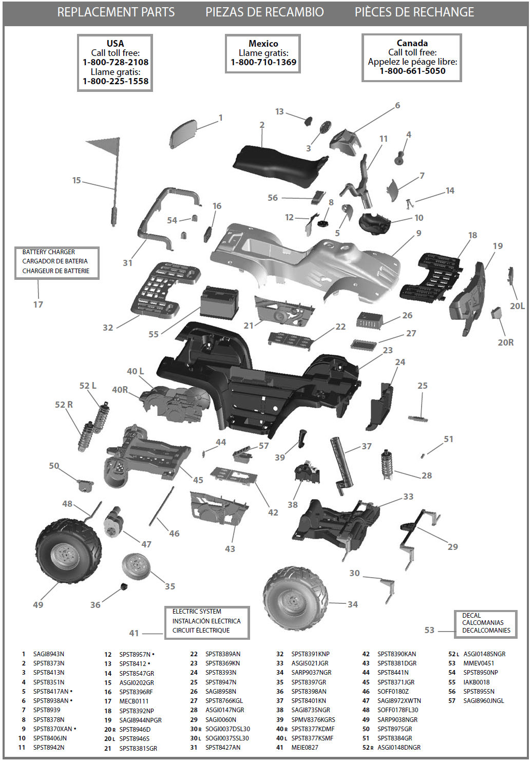 IGOD0510 parts diagram