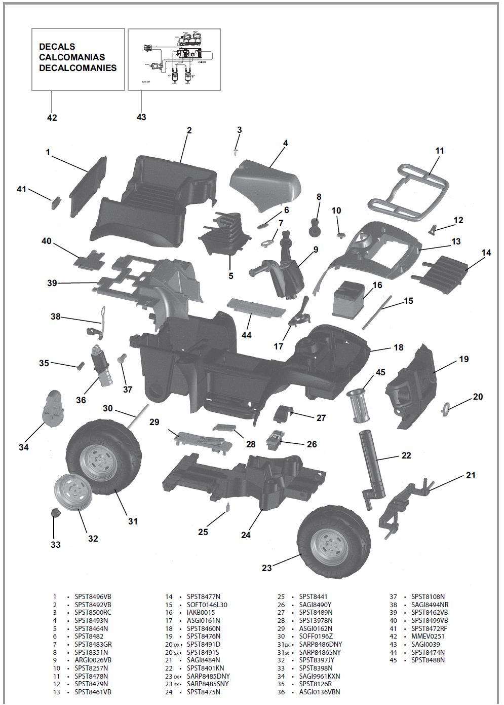 IGOR0013 parts diagram
