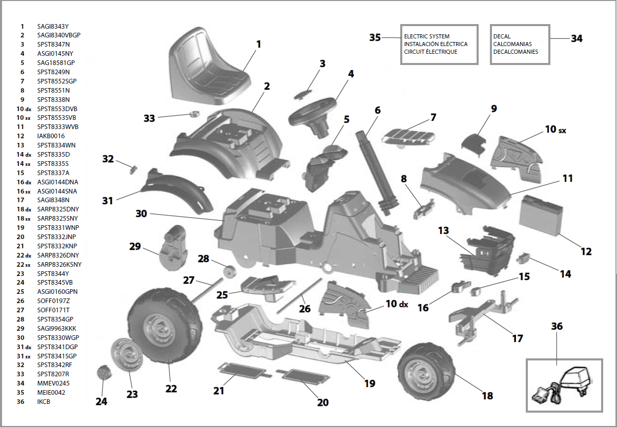 john deere e tractor iged1062 parts kidswheels john deere e tractor parts diagram