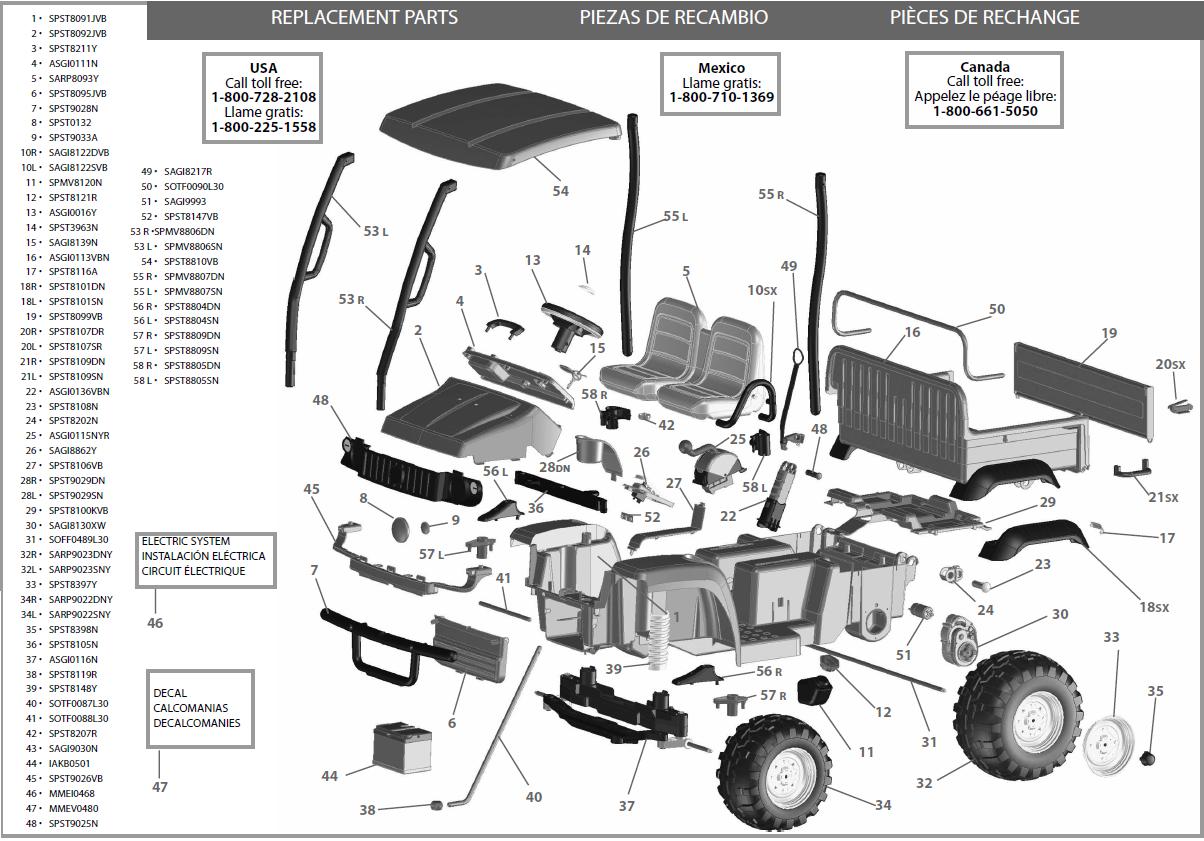 5e0bb7 Wiring Diagram For 2005 John Deere Gator Hxp