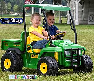 John Deere Toys Charge and Ride
