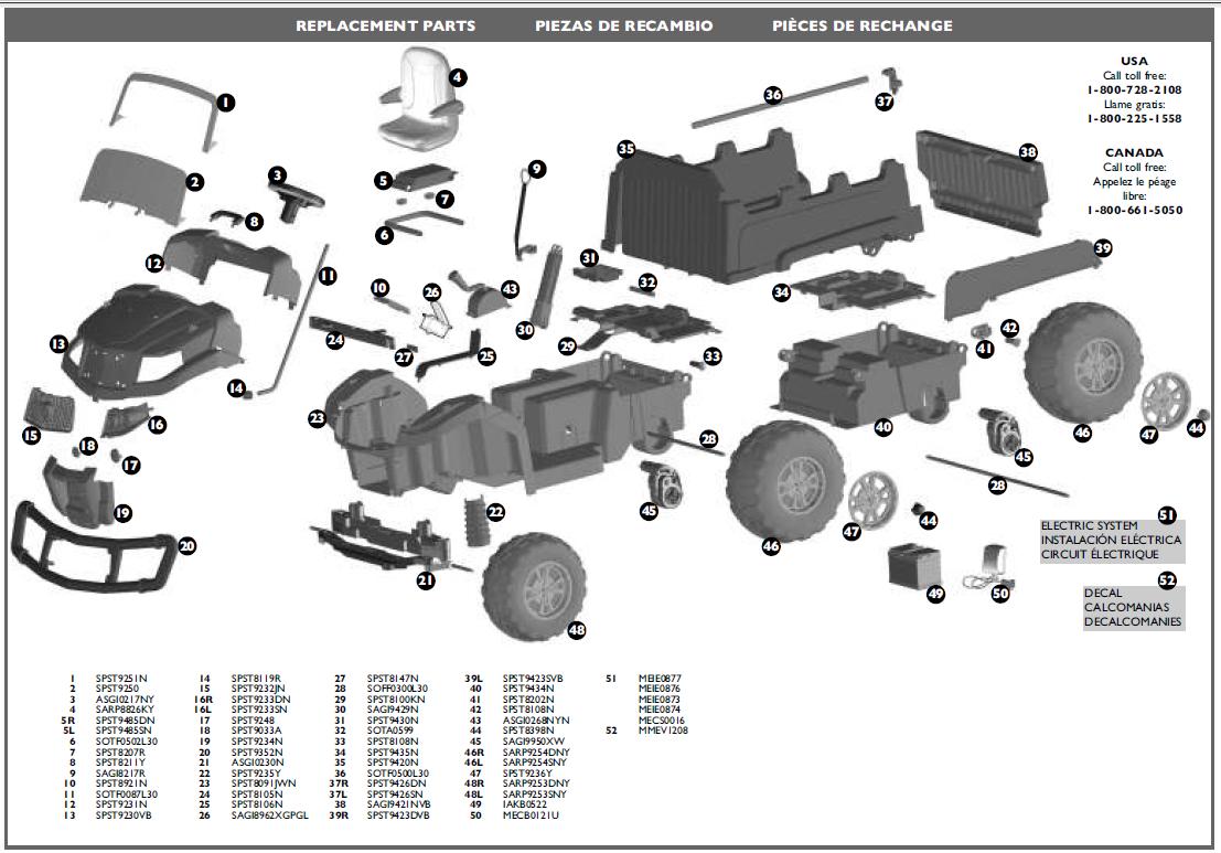 John Deere Gator 4x4 620i Wiring Diagram Schematics Data Tx Xuv Elsalvadorla 6x4